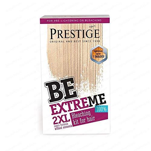 Be Extreme 2XL Producto Supra para el Blanqueamiento del Pelo Sin Amoniaco Sin PPD Sin Parabenos