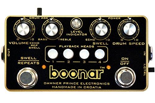 Dawner Prince Electronics Boonar Multi-Head Drum Echo Pedal de Efecto