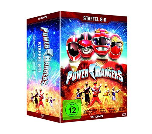 Staffel 8-11 (Lightspeed Rescue, Time Force, Wild Force & Ninja Storm) (19 DVDs)