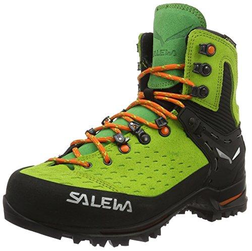 Salewa Unisex-Erwachsene UN Vultur Gore-Tex Trekking-& Wanderhalbschuhe, Grün (Cactus/Arancio 5323), 44 EU