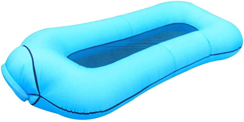 HGHFH Schwimmende Reihe Aufblasbare Schwimmbad Liege Schwimmbett Hngematte Tragbare Schwimmbad Schwimmbett Wasser Aufblasbare Schwimm,