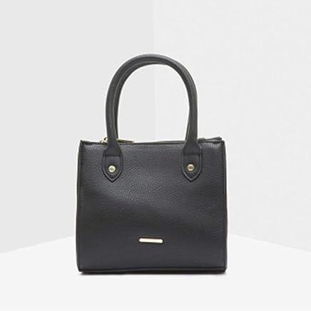 762828fb38e99 Life Style Carpisa Crossbody Bag with Zip Closure(BLack)
