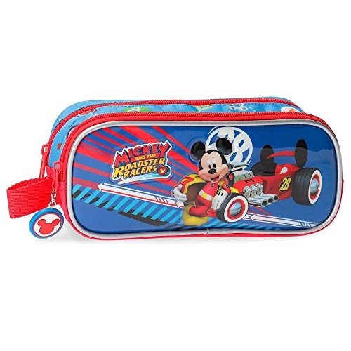 Trousse double compartiment World Mickey