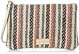 Don algodón Urban, Bolso con correa de mano Espigas Mujeres, Naranja, 24x16 cm