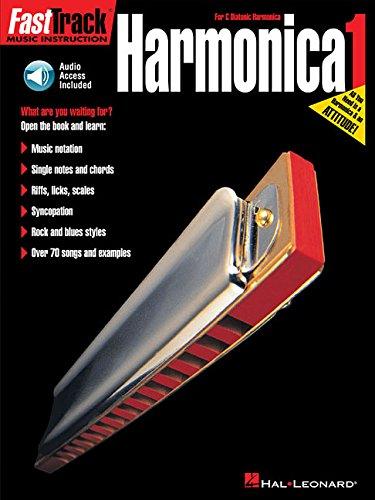 FastTrack Harmonica Method - Book 1: for Diatonic Harmonica (Fast Track (Hal Leonard))