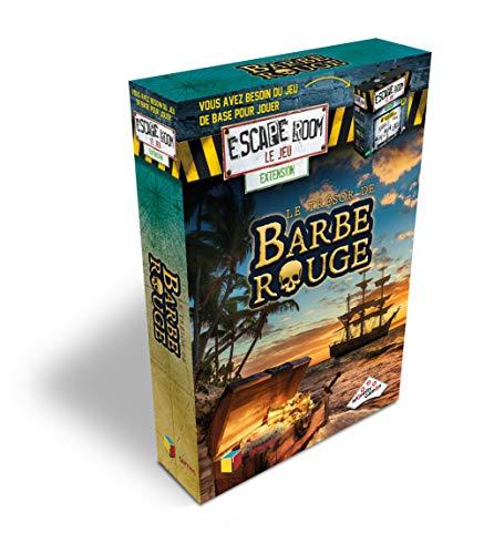 RIVIERA GAMES- Extension Escape Room Le Jeu, 5011, Le Trésor De Barbe Rouge