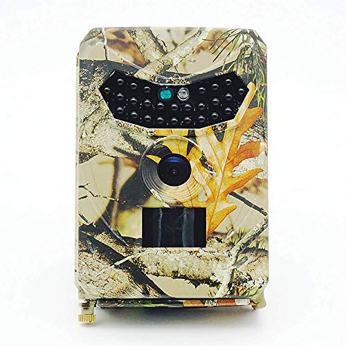 HYLH 12MP 1080P HD Infrarot Game Trail Kamera 26 Stuuml;ck IR LEDs 120 deg; Weitwinkel Nachtsicht wasserdichte Jagd Scouting Kamera Digital Uuml;berwachungskamera, Model: PR100