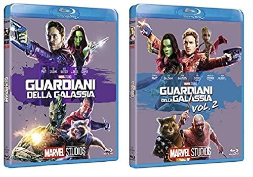Guardiani della Galassia 1 + 2 (2 film in BLU-RAY Edizione Marvel 10° anniversario) Edizione Italiana