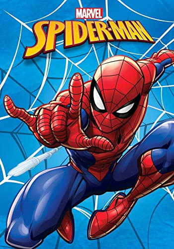 BrandMac Marvel´s Spiderman Kuscheldecke 120x140 Fleece-Decke Polyester Jungen Spider-Man