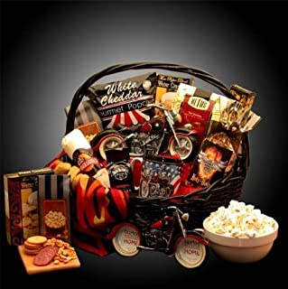 Gift Basket 851701 Hes A Motorcycle Man Themed