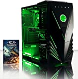 VIBOX Vision 37 - Ordenador para Gaming (AMD A4-7300, 4 GB de RAM, 500...