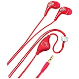 HELLO KITTY KT2081R Jeweled Earbuds (Red)