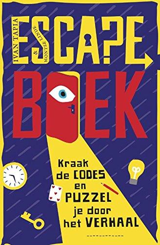 Escape boek: Kraak de codes en puzzel je door het verhaal