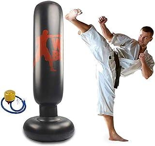 パンチバッグ ストレス解消 サンドバッグ 気分転換 パンチ キック ストレス発散 運動不足 トレーニング ボクシング テコンドー ダイエット 耐久 子供 大人 空気入れ付き