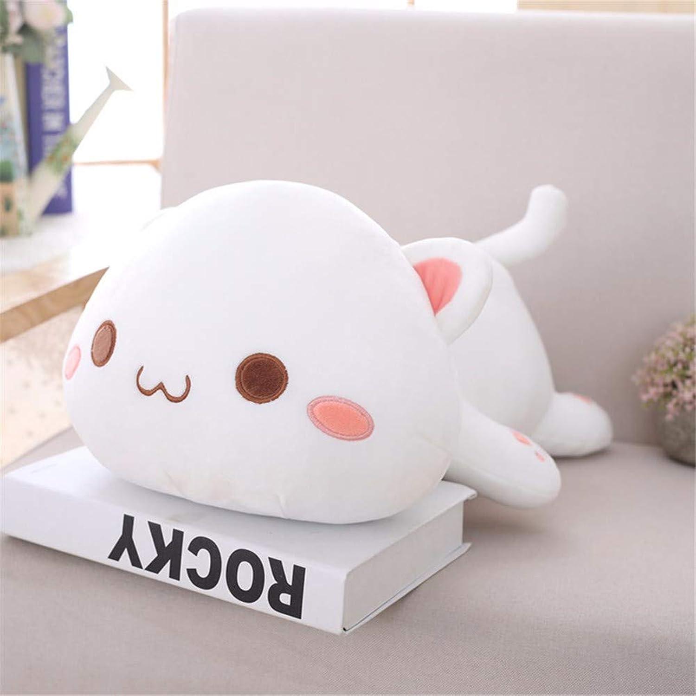 DIEIGEIHAO Cute cat plush toy doll doll doll girl sleeping pillow super cute funny 50cm, 1