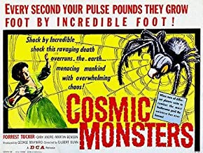 Cosmic Monsters - 1958 - Movie Poster Magnet