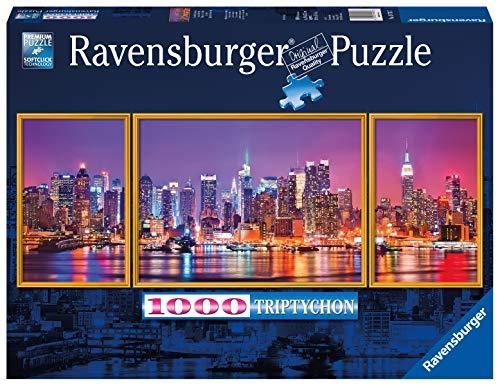 Ravensburger Puzzle 19792 - New York - 1000 Teile Puzzle für Erwachsene und Kinder ab 14 Jahren, Triptychon Puzzle bestehend aus 3 Teilen