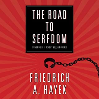 The Road to Serfdom audiobook cover art