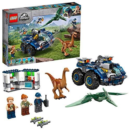 LEGO 75940 Jurassic World Ausbruch von Gallimimus und Pteranodon, Dinosaurier Figuren, Bauset für Kinder ab 8...