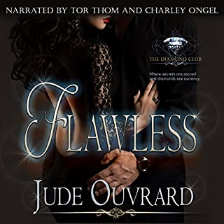 Flawless audiobook cover art