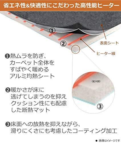 Panasonic(パナソニック)『着せかえカーペット用ヒーター(DC-2HA)』