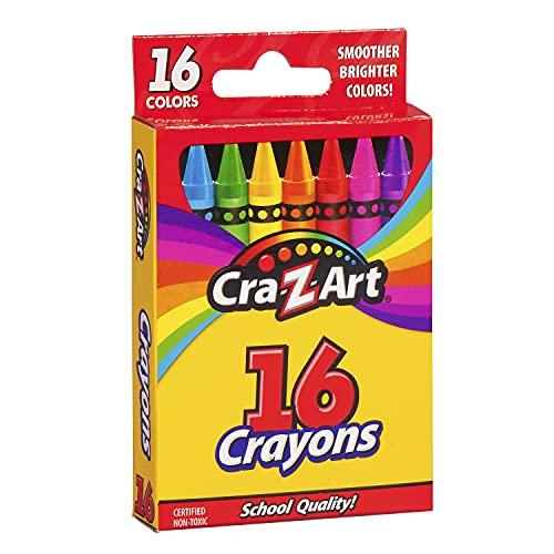 Cra-Z-Art Crayons, 16 Count