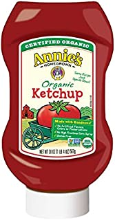 Annie's Homegrown Organic Upside Down Ketchup, 20 Ounce (12 pack)