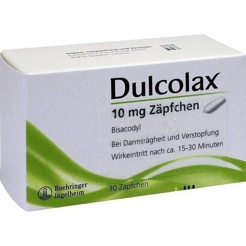 Dulcolax Zäpfchen Reimport EurimPharm, 30 St. Zäpfchen