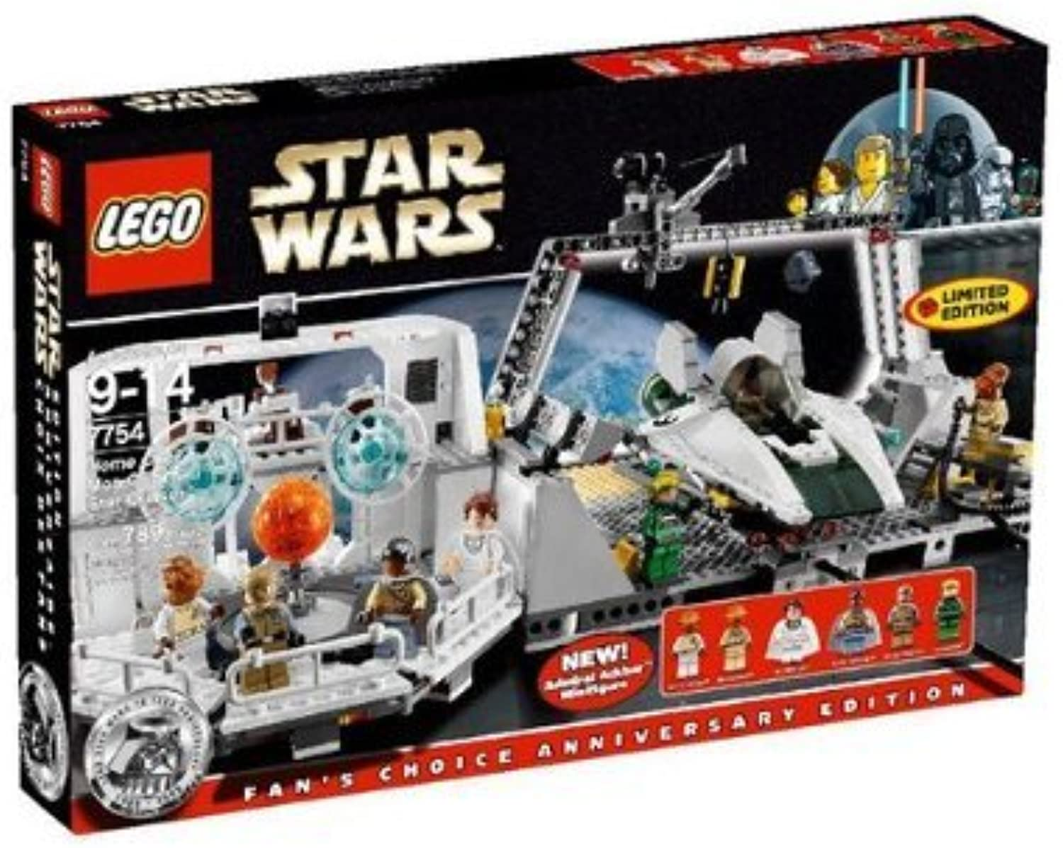 LEGO Star Wars 7754 Home One Mon Calamari Star Cruiser