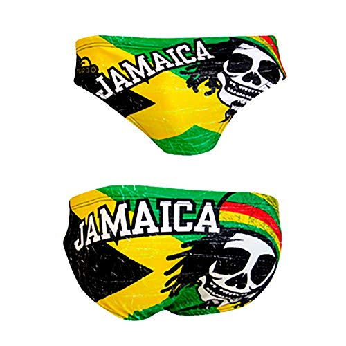 Turbo Jamaica Skull Vintage 2013 Waterpolo S