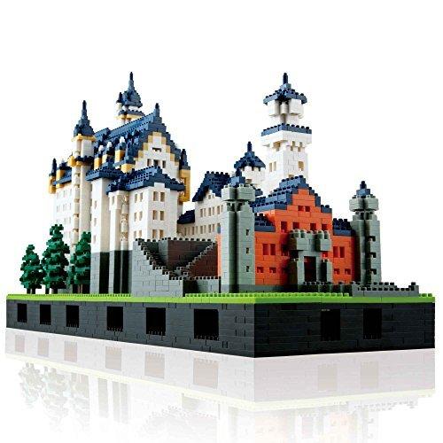 Nanoblock: Neuschwanstein Castle Deluxe Edition Set by Kawada (Juguete)