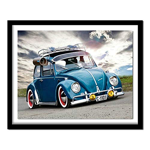 Jigsaw puzzle 1000 piece Back to the future Super gorgeous car art pictures jigsaw puzzle 1000 piece scotland Skill game for the whole family, colorful placement game Fun Fami50x75cm(20x30inch)
