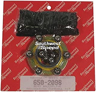 NEW BALL SPLINE TAILHOUSING OVERHAUL KIT FOR BERT ALUMINUM AND MAGNESIUM BALL SPLINE TRANSMISSIONS FOR MODIFIED, LATE MODEL, AND STREET STOCK RACING, 3-BS-OK-N, TRANNY, IMCA, UMP, USMTS, ETC, STEEL BALLS, BALL WASHER SEAL, AND 1 BAG OF GREASE