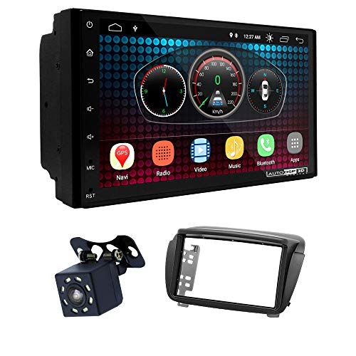 UGAR EX6 7' Android 6.0 DSP Navigazione GPS per Autoradio + 11-376 Kit di montaggio compatibile con FIAT Doblo (263) 2010-2015 / OPEL Combo Tour (D) 2011+