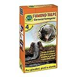 Mondo Verde REP100 Repellente FUMOND Talpe RODITORI Astuccio 4 FUMOGENI, Nero...