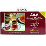 Best Persian Teas - Sadaf Special Blend Tea Earl Grey, 100-count- 2 Review