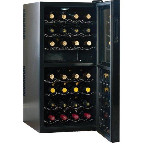Haier 32 Bottle Dual Zone Wine Cellar