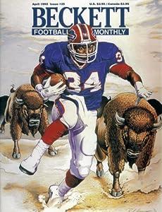 Beckett Football Card Magazine #25 : Buffalo Bills' Thurman Thomas (April 1992)