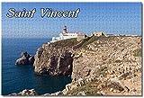 Puzzle- Portugal Cabo San Vicente Rompecabezas para Adultos Niños 1000 Piezas Juego de Rompecabezas de Madera para Regalos Decoración del hogar