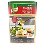 Knorr Professional Ultimate Hollandaise Sauce Mix Vegetarian, Gluten Free, No Artificial Flavors or Preservatives, No added MSG, 30.2 oz, Pack of 4