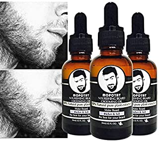 Shreeyas Men Moisturizing liquid Beard Oil Hair Loss Products Moisturizing Leave-In Conditioner for Groomed Beard Growth Styling Beauty