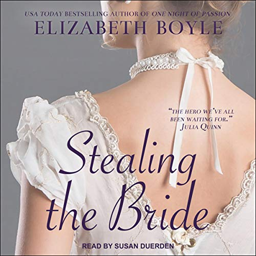 Stealing the Bride Audiobook By Elizabeth Boyle cover art