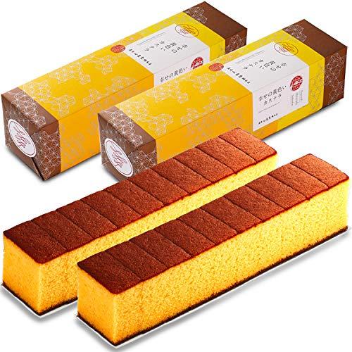 長崎心泉堂 長崎カステラ 幸せの黄色いカステラ 10切カットタイプ 310g×2本 セット