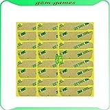100 pcs/lot bandes colle adhésive pour iphone 4s lcd écran tactile lentille extérieure verre 3M autocollant adhésif
