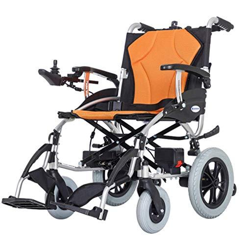 L-Y lichte dual functie opvouwbare Power Old Age Simple rolstoel (5,2 A Li-Ion accu) met elektrische stroomvoorziening