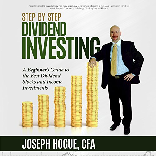 Step by Step Dividend Investing audiobook cover art