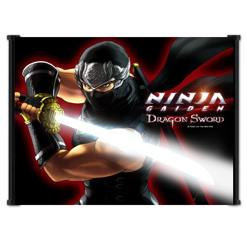Ninja Gaiden Dragon Sword Game Fabric Wall Scroll Poster (20'x16') Inches