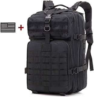 Roaring Fire Tactical Backpack, Army Assault Pack, Molle Backpack for The 3 Day Pack, Bug Out Bag 45L