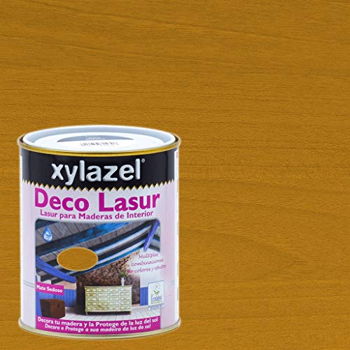 Xylazel - Protección madera deco lasur 750ml baltico naranja
