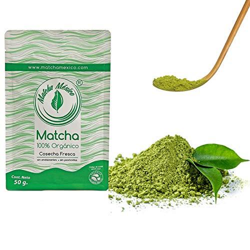 Matcha Puro Orgánico Té Verde Calidad Premium 50 gramos - Matcha México / Para Bebidas Y Postres